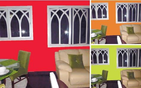 Querida Altagracia, con solo cambiar el color resaltarás los colores de tus muebles, tu piso y los objetos decorativos que tienes.
