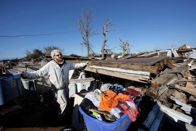 Los tornados han provocado la muerte de varias personas. Foto AP