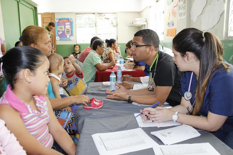 Voluntariado del Ministerio de la Juventud.