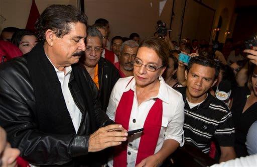 Xiomara Castro, Manuel Zelaya