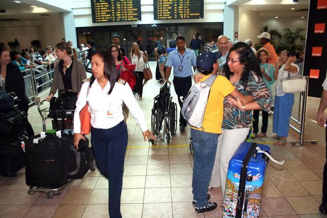 Dominicanos ausentes.