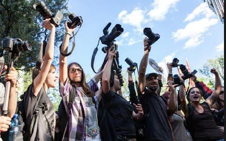 Se limita acceso a reporteros en algunos actos