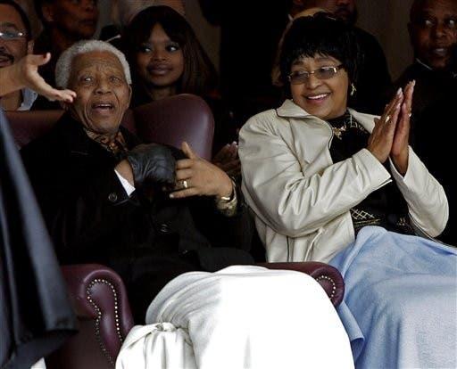 Nelson Mandela, Winnie Madikizela-Mandela