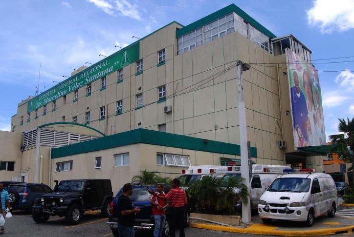 Fachada del Hospital Marcelino Vélez. Hoy Aracelis Mena.