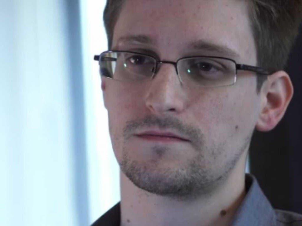 El ex consultor de la NSA estadounidense Edward Snowden
