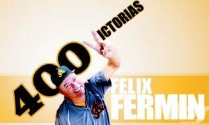 Félix Fermín llega a 400 triunfos