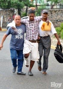 Emergencias cuatro hospitales atendieron cientos de heridos