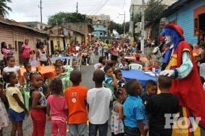 Junta de vecinos de La Margara agasaja a niños