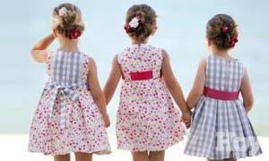 Moda infantil para las Fiestas