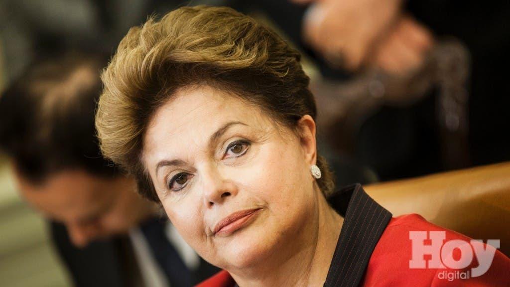 Dilma Rousseff, Presidenta de Brasil. Foto de archivo.