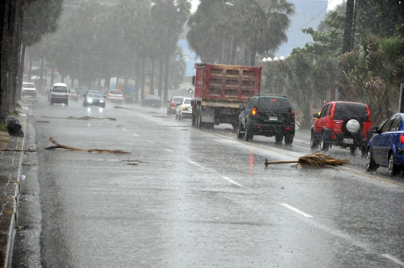 Vientos alisios dejarán lluvias dispersas en el país