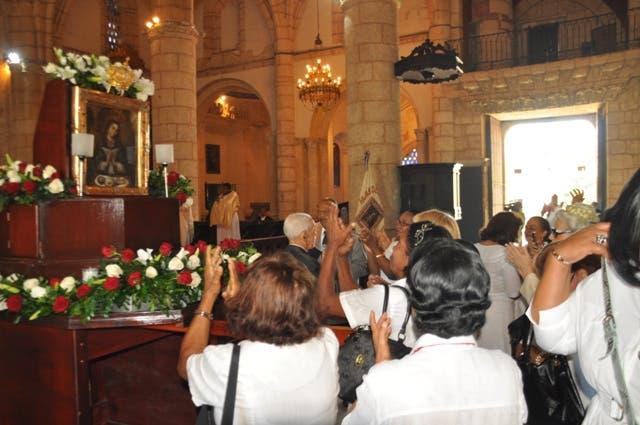 Misa por el Día Nuestra Señora de la Altagracia, Hoy / Francisco Reyes. Archivo.