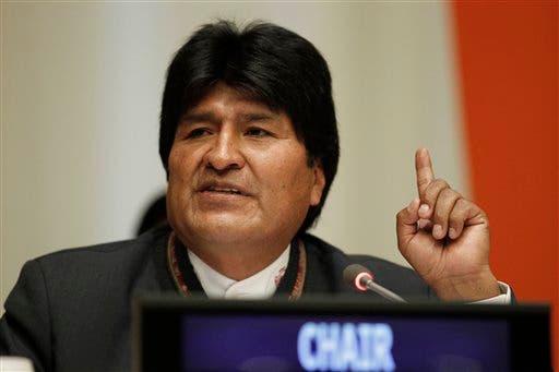 Evo Morales en La Haya para presentar litigio marítimo contra Chile