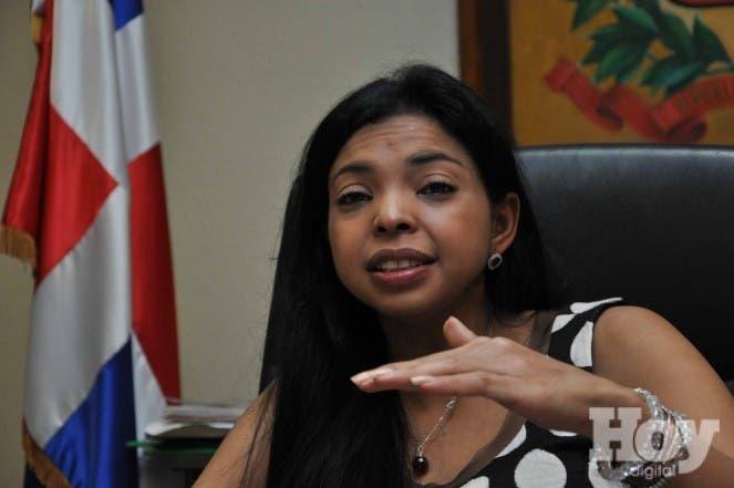 Fiscal del Distrito, Yeni Berenice Reynoso. Foto de archivo.
