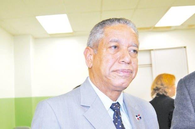 Héctor Guzmán, vocero del ex presidente Hipólito  Mejía. Archivo.