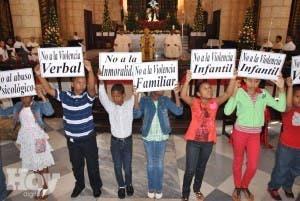 Pastoral infantil deplora crisis social por violencia familiar