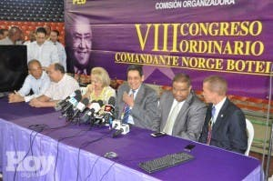 Alberto Holguín sigue entre más votados al CC PLD; tercer boletín será dado a conocer mañana