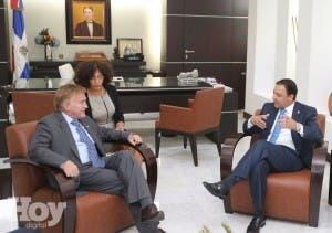 Embajador visita presidente Cámara Diputados