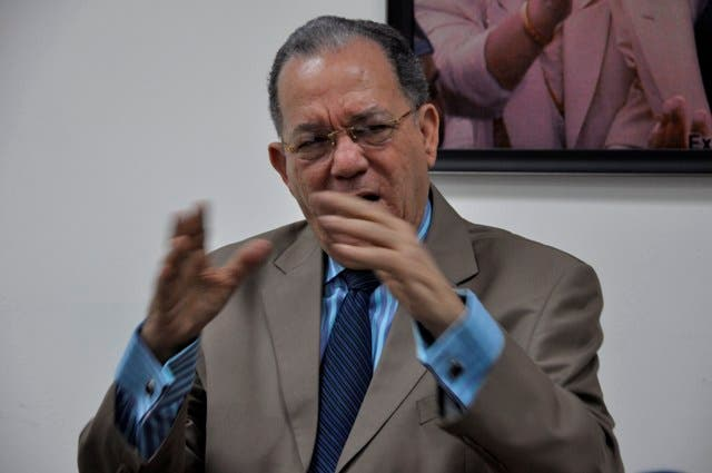 Julio Mariñez,dirigente del PRD .Hoy/Pablo Matos.