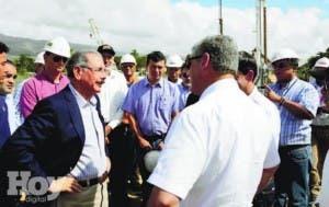 Presidente Medina inspecciona carretera Circunvalación Norte