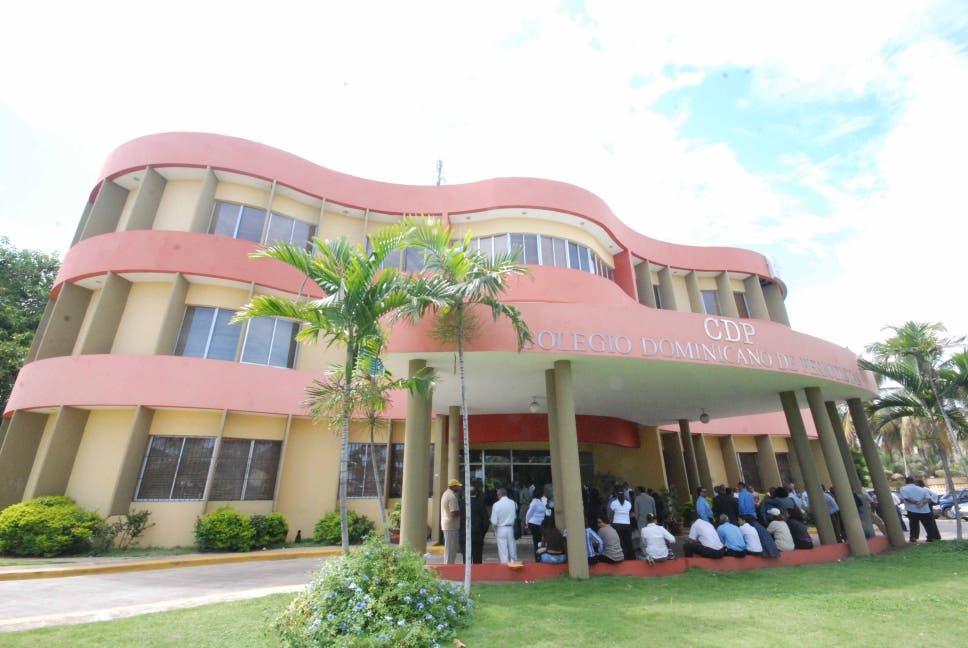 Fachada del Colegio Dominicano de Periodistas.