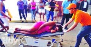 Emergencias de hospitales repletas de heridos