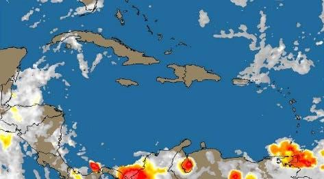 Inicio de semana laboral con pocas lluvias; el miércoles onda tropical se acerca a RD.
