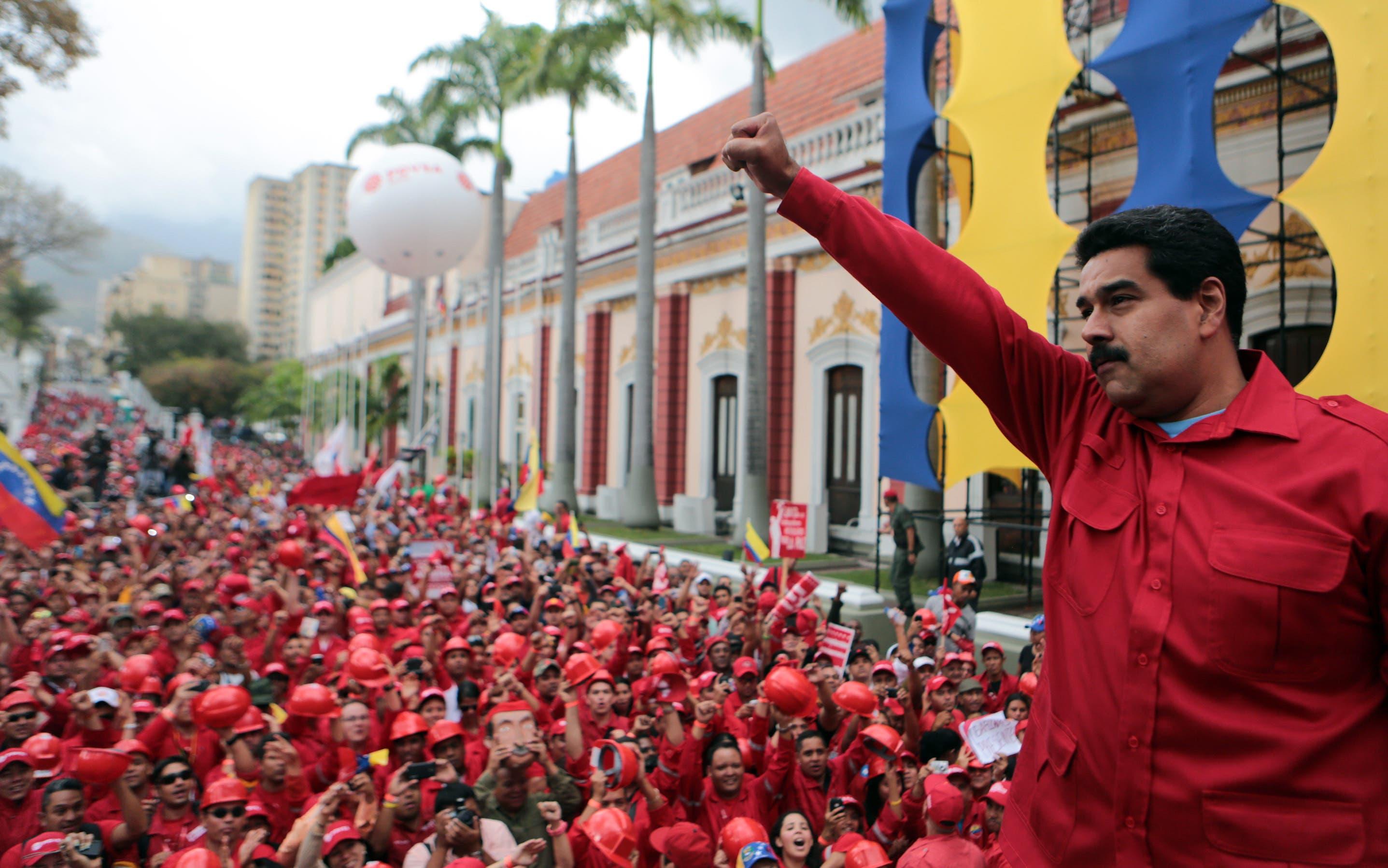Resultado de imagen para MADURO EN MITIN