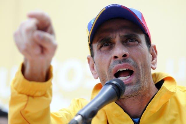 Capriles confirma acudirá a diálogo con gobierno de Venezuela