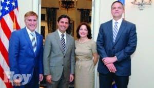 Embajada de Estados Unidos ofrece recepción en honor a misión de Florida