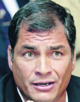 Correa destaca en Harvard el modelo social de Ecuador y defiende a Maduro