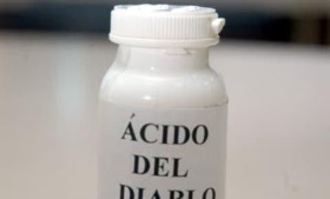 Iniciarán operativos contra venta ácido lesivo