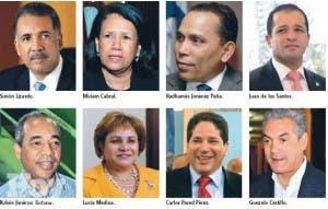 Sector Danilo arrasa en Comité Político, siete; de Leonel uno