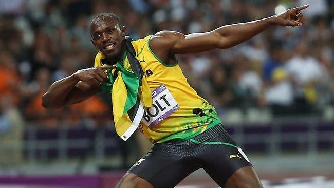 El seis veces campeón olímpico Usain Bolt, archivo