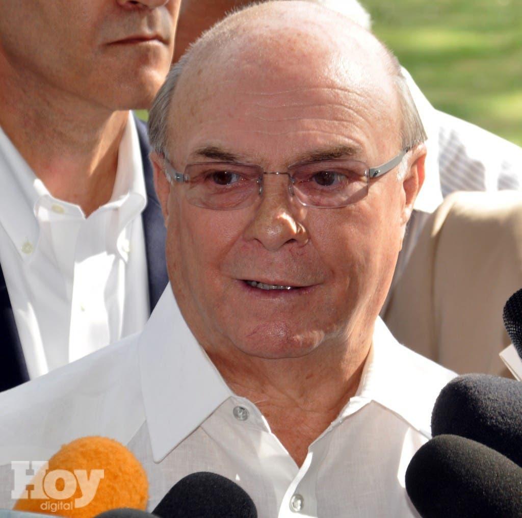 Hipólito Mejía, ex presidente de la República Dominicana.