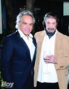 Los maestros José Antonio Molina e Iván  Tovar