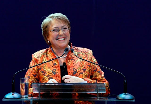 Presidenta chilena Michelle Bachelet, archino