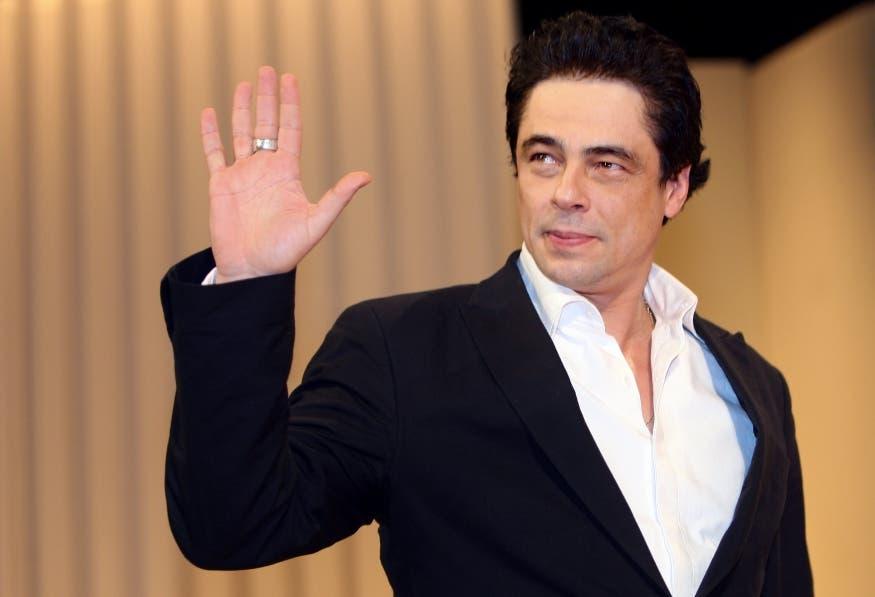 Benicio del Toro en foto de archivo. AFP PHOTO / VALERY HACHE.
