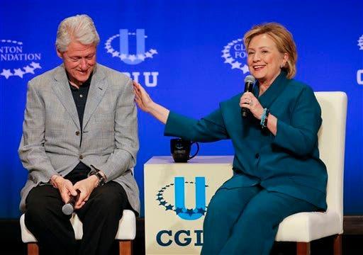 Bill Clinton, Hillary Rodham Clinton,