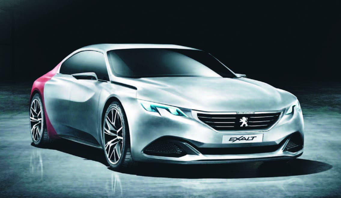 Peugeot Exalt, lujo a la francesa