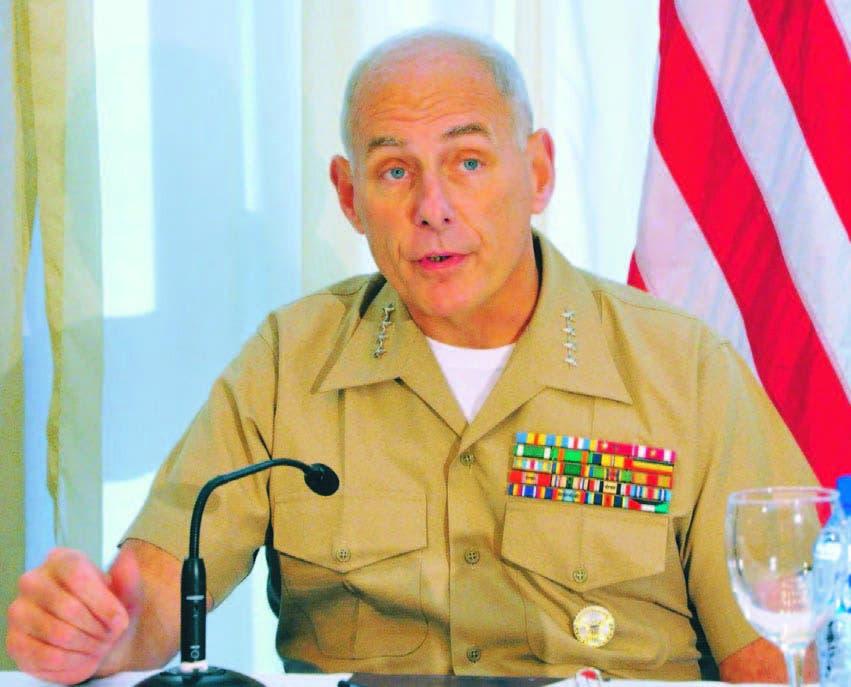 El general John Kelly, jefe del Comando Sur, fue cuestionado ayer en el Congreso estadounidense