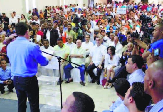Juventud de PRD critica corrupción e impunidad en RD