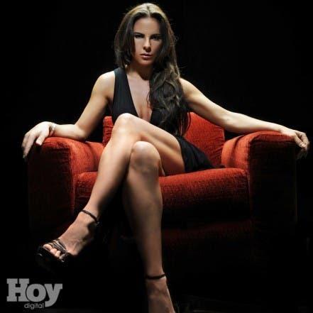 La actriz mexicana Kate del Castillo. Hoy/Alegría