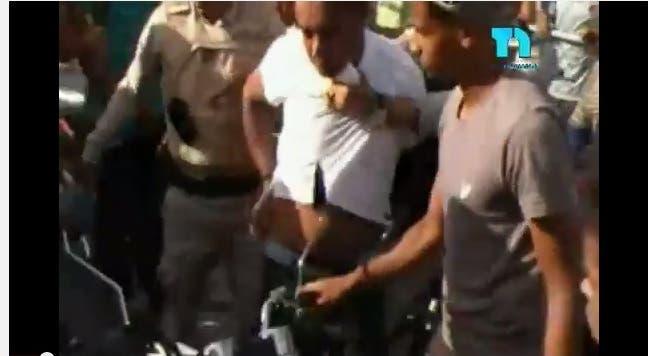 «Tremenda» paliza a hombre encontraron robando