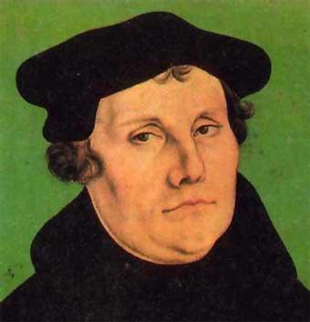 La intención de Lutero