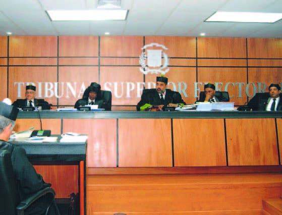 Miembros del Tribunal Superior Electoral