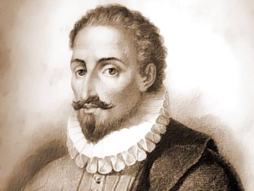Miguel de Cervantes.