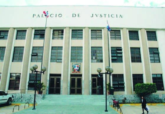 Palacio de Justicia . Archivo.