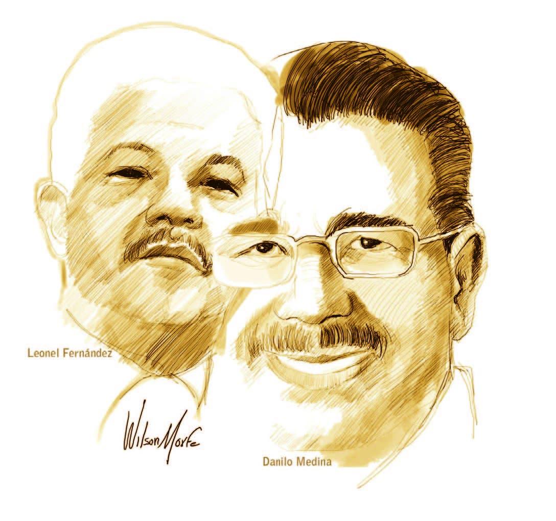 Leonel y Danilo: la popularidad