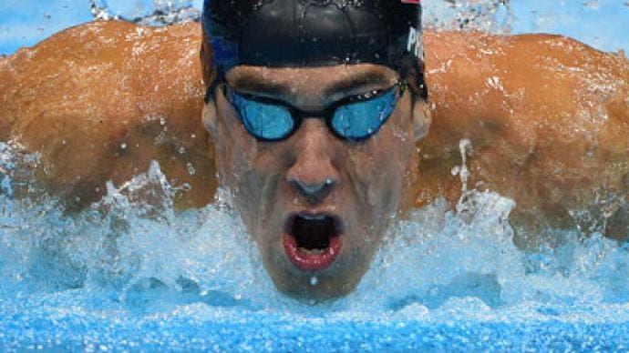 El legendario nadador Phelps regresa a las competiciones